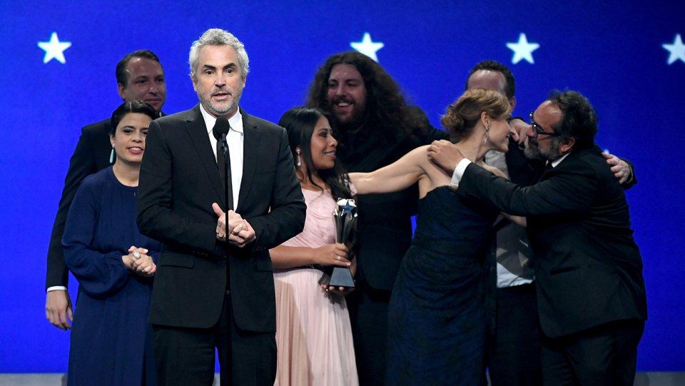 Roma arrasa en los premios Critics Choice y pisa fuerte hacia el Oscar