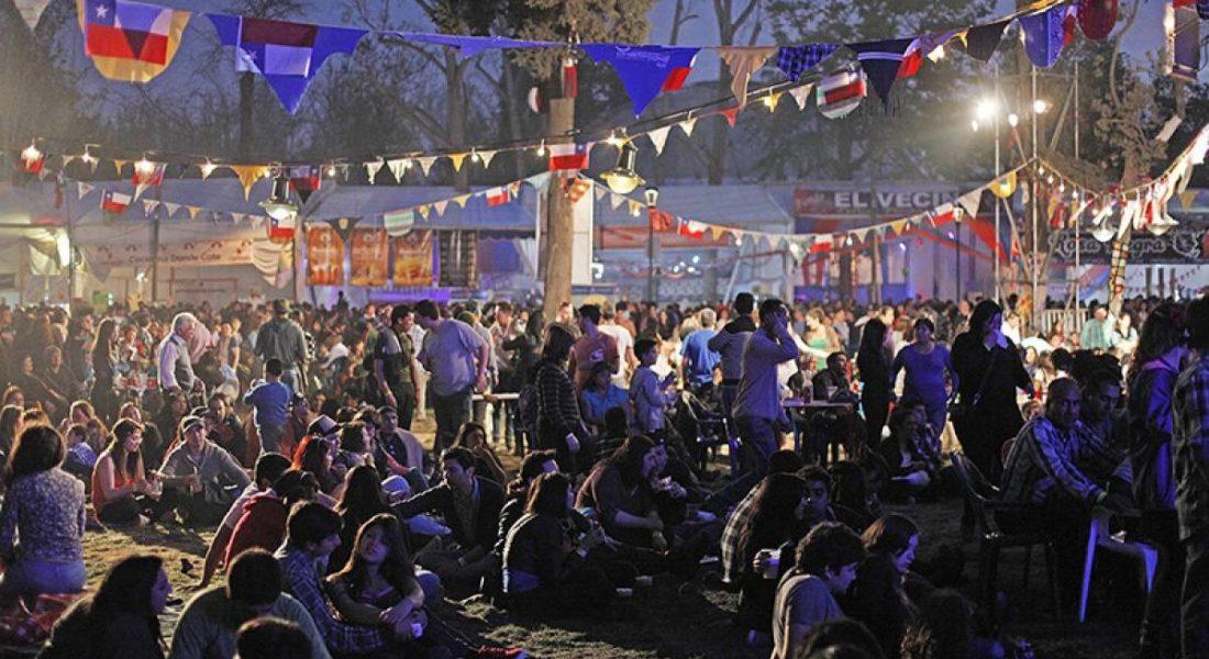 Dónde celebrar el 18 en Santiago
