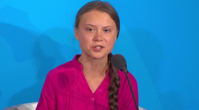 Greta Thunberg en Cumbre Climática de la ONU: «Ustedes me están robando mi futuro, ¿cómo se atreven?»