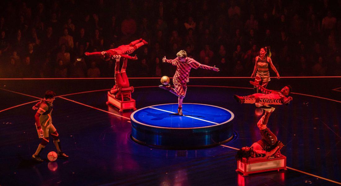 Así es el show del Cirque du Soleil sobre Lionel Messi