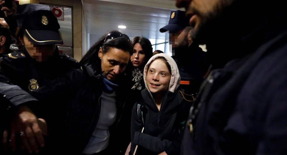 """Greta en Madrid: """"Espero que la situación en Chile mejore"""""""