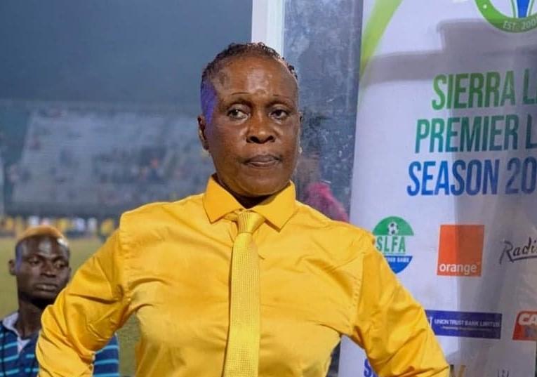 Entrenadora hace historia en Sierra Leona: dirigirá en Primera División